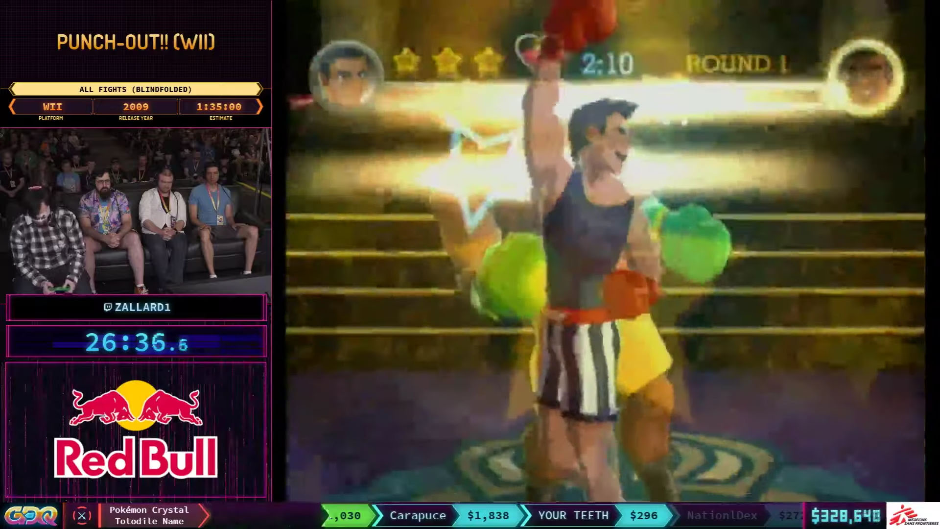 Punch-Out Wii All Fights Blindfolded